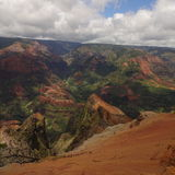 Waimea canyon. Kauai Hawaii Stock Photo