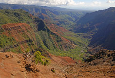Waimea Canyon, Kauai, Hawaii Royalty Free Stock Image