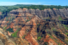 Waimea Canyon in Kauai, Hawaii Islands Stock Images