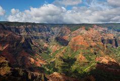 Waimea canyon. Kauai,Hawaii Royalty Free Stock Photos