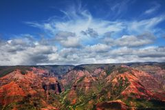 Waimea canyon. Kauai,Hawaii Royalty Free Stock Photo
