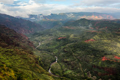 Waimea Canyon Kauai island Hawaii Stock Photo
