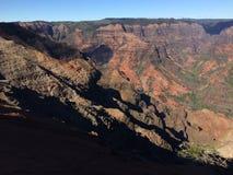 Waimea Canyon on Kauai Island, Hawaii. Royalty Free Stock Images