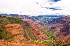 Waimea Canyon, Kauai Island, Hawaii, USA Royalty Free Stock Photography