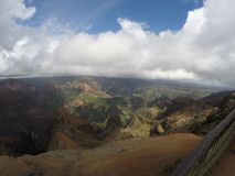 Waimea canyon. Kauai views from Waimea canyon Stock Photo