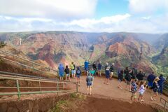 Waimea Canyon Lookout on Kauai.