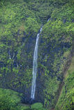 Waimea Canyon Waterfall, Kauai Stock Image