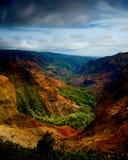 waimea del canyon Fotografie Stock Libere da Diritti