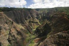 waimea del Kauai del canyon Fotografie Stock Libere da Diritti