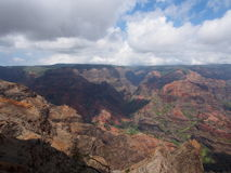 Waimea kanjon royaltyfria foton