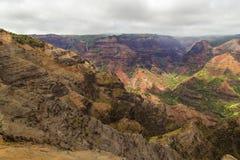 Waimea kanjon Royaltyfri Fotografi
