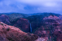 Waimea kanjon Arkivfoto