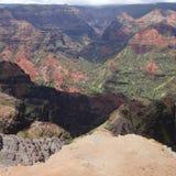 Waimea kanjon Royaltyfri Bild