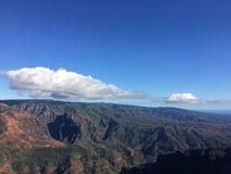 Waimea kanjon på den Kauai ön, Hawaii Arkivfoto