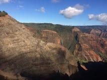 Waimea kanjon på den Kauai ön, Hawaii Royaltyfri Bild