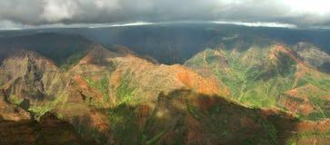 waimea kauai каньона Стоковые Изображения RF