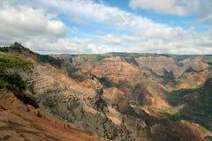 Waimea Schlucht - Kauai, Hawaii Lizenzfreie Stockfotografie