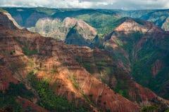 Waimea-Schlucht Kauai Hawaii Lizenzfreie Stockfotografie