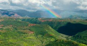 Waimea-Schlucht Kauai Hawaii Stockbild