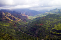 Waimea Schlucht, Kauai, Hawaii Stockfotos