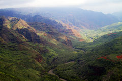 Waimea Schlucht, Kauai, Hawaii Stockbilder