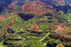 Waimea Schlucht, Kauai, Hawaii Lizenzfreie Stockfotos