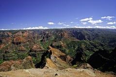 Waimea Schlucht, Kauai, Hawaii Lizenzfreies Stockfoto