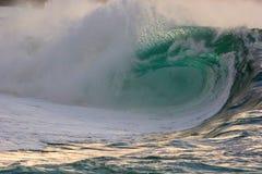Waimea Ufer Break3 Stockfoto
