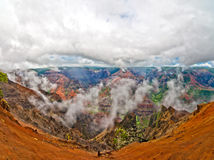 Waimeacanion, het Eiland van Kauai, Hawaï, de V.S. Stock Afbeelding