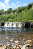 Wain Wath Force - waterfall in Swaledale. Royalty Free Stock Photo