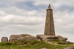 Wainman的石峰,在整流罩附近,北约克郡,英国,英国 图库摄影