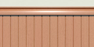 Wainscoting Royalty Free Stock Photos