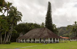 Waioli Huiia Mission Hall in Hanalei Kauai Royalty Free Stock Photo
