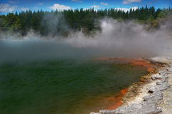 Waiotapu Geothermal, Rotorua, New Zealand Royalty Free Stock Photo