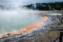 Waiotapu Termiczna kraina cudów, Północny Nowa Zelandia Fotografia Royalty Free