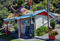 Waipapa Bay Crayfish Restaurant & Shop, Kaikoura Royalty Free Stock Photos
