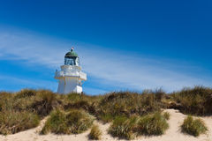Waipapa Lighthouse - New Zealand Stock Photo