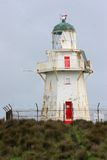 Waipapa Punkt-Leuchtturm lizenzfreie stockfotos