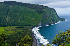Waipi'o Valley Royalty Free Stock Photo