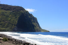 Waipio谷夏威夷 库存照片