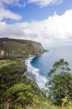 Waipio Valley on the Big Island Stock Photography
