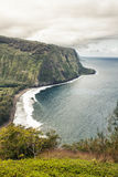 Waipio valley in Hawaii royalty free stock photography