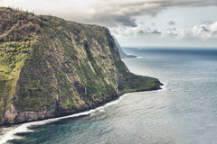 Waipio valley in Hawaii Royalty Free Stock Image