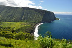 Waipio Valley Lookout, Big Island, Hawaii Stock Photography