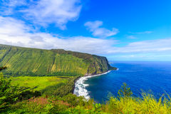 Waipio Valley Lookout Stock Photography