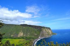 Waipio valley Stock Photos