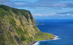 Waipio Valley view in Big island Stock Images