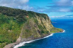 Waipio Valley view in Hawaii Stock Images
