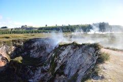 Wairakei Geotermiczna stacja Obrazy Royalty Free