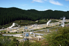 Wairakei Power Station,New zealand Royalty Free Stock Photography